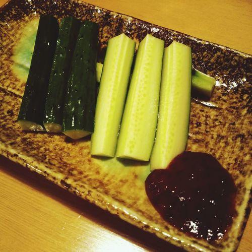 食べもの Food Foods うめきゅう Cucumber Cucumbers