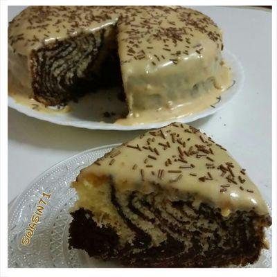 توفي  Cakes لذيذة Cake♥ Foodi Food كيكة كيك هش Cream #
