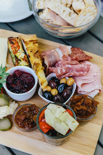 Antipasti Antipasto Bread Close-up Day Food Food And Drink Freshness Ham Indoors  Italian Food Meat No People Olive Olives Pickled Vegetables Plate Pork Prosciutto Ready-to-eat Salami Sausage Shared Plate Table