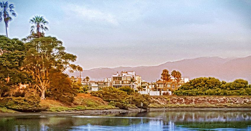 Playa Del Rey Lagoon Local Santa Monica Mountains Summer Views Summer2015 Morning