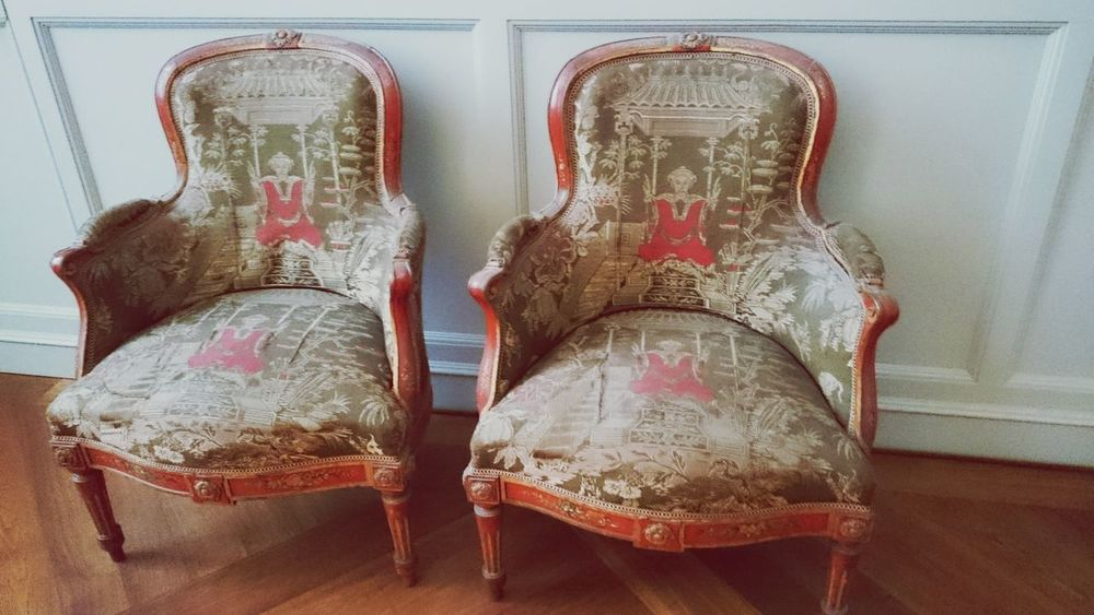 Two Empty Chairs Old Vintage Furniture Interior Visions Of Emptyness Classic