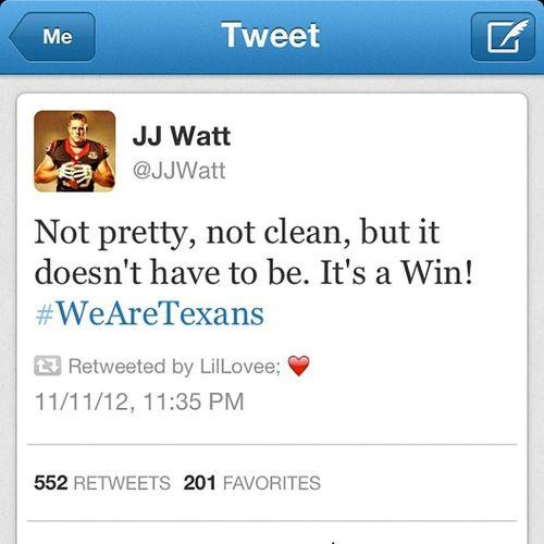 JJ said it ? Texannation Wearetexans !
