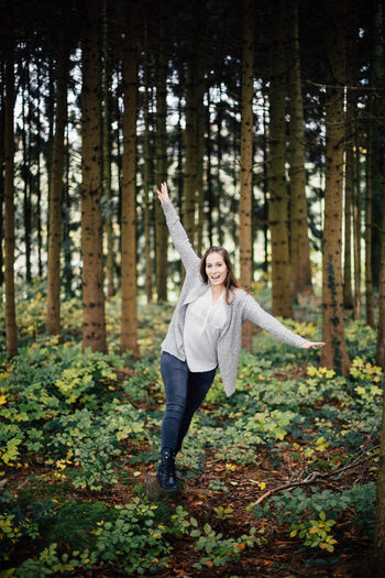 Adventure Autumn Beautiful Woman Emotions Europe Fall Fall Colors Fall Leaves Forest Good Mood Happy Joy Mood Nature Nature Outdoor Outdoors Outside Switzerland Tree Tree Trees Woman Woods Young Adult