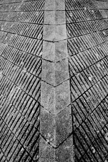 Corner Of The Pyramid Pattern Backgrounds No People Textured  Stone Close-up Repetition Design Architecture Corner Black And White Blackandwhite