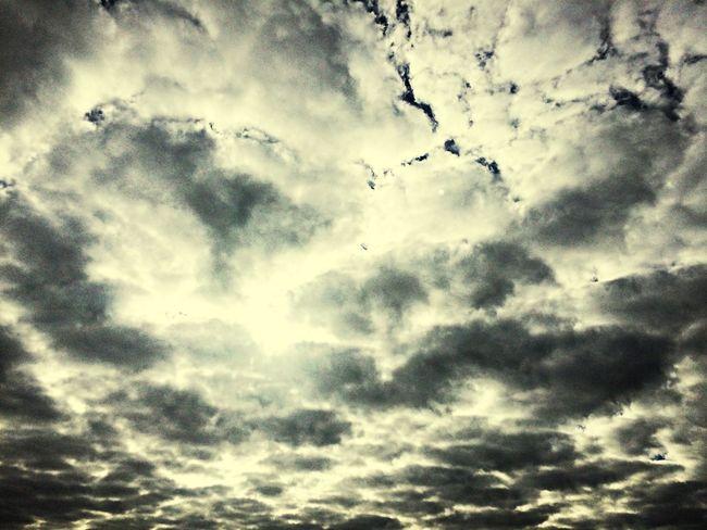 Ciel Nuages Effect Moment Moments Me :)  Sanary Sur Mer Clouds
