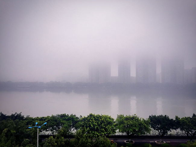 Foggy day in Guangzhou Check This Out Taking Photos Enjoying Life Sky_collection Photography Eye4photography  EyeEm Best Shots