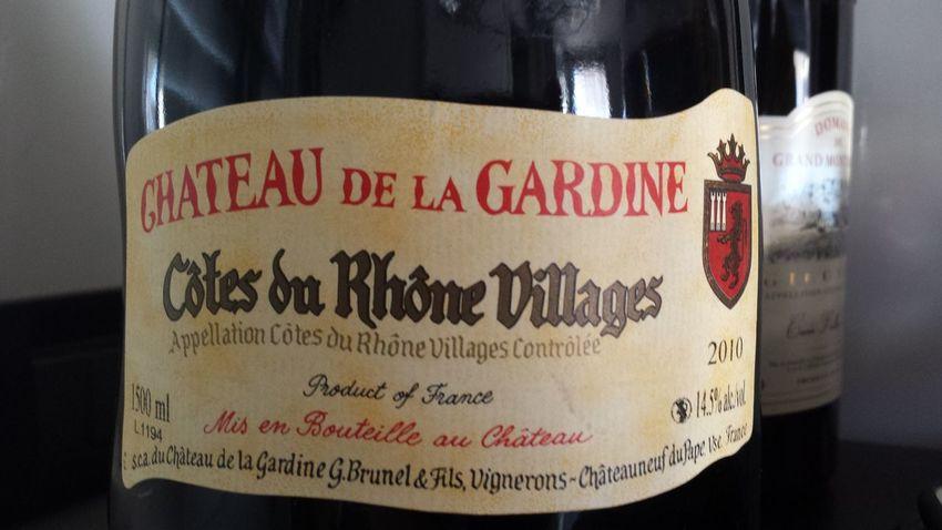 Vin CôtesduRhône Chateauneufdupape France hummm!