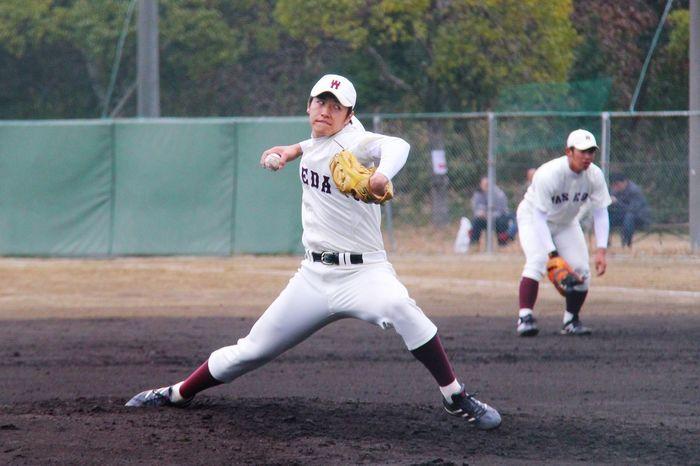 野球 Baseball 早稲田 Japanese