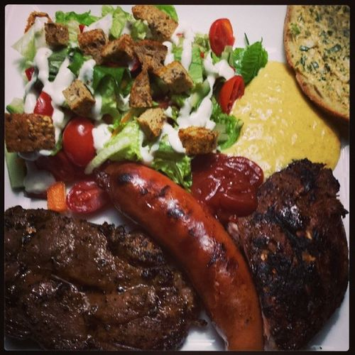 Din Din... weber rules.. Homemade Realfood Salad Remulade bbq