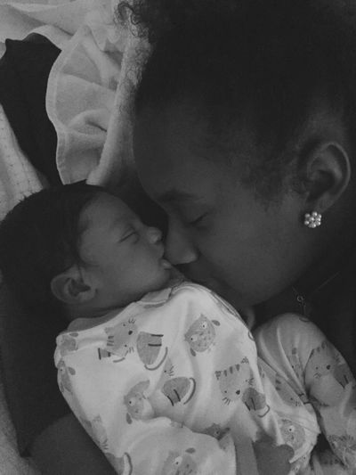 There's nothing in this world like a mothers love. The day m mother brought yours to me she became mine and you are an extension of her. You have become mine too.