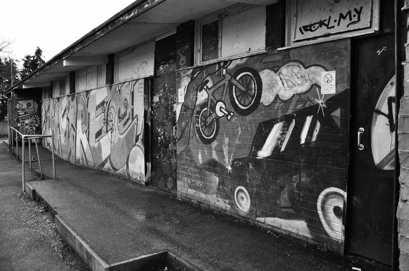 Graffiti Art Skateboarding Skateboard Park Ghetto Art. ✈