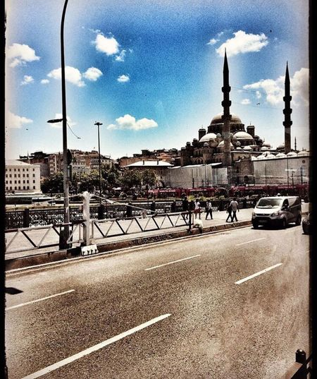Architecture Transportation Road Built Structure Street Building Exterior Sky City Cloud Travel Destinations Cloud - Sky City Life Outdoors Blue Day Tourism History Curve Goprohero4 Picoftheday Istanbul Turkey Vascocam Cityscape Enlight