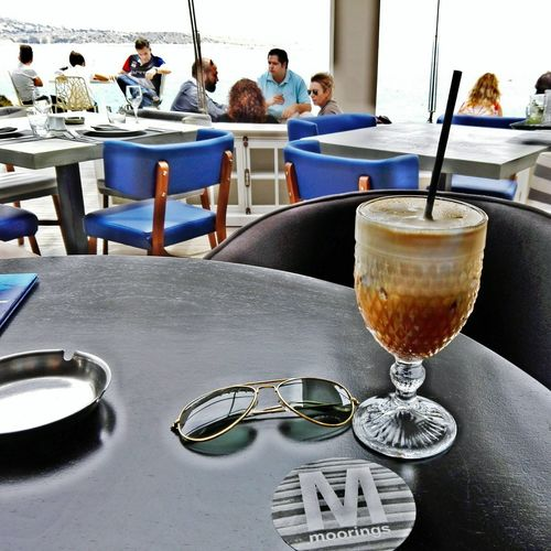 Coffee Time Coffee ☕ Athens Yolo Relaxing Coffee Grecce Morrings