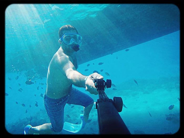 Snorkeling in hurghada Under Water