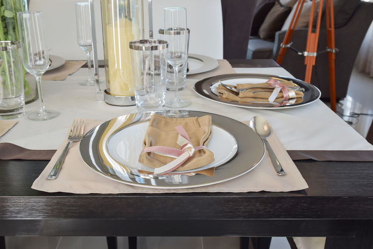 View of food on table in restaurant