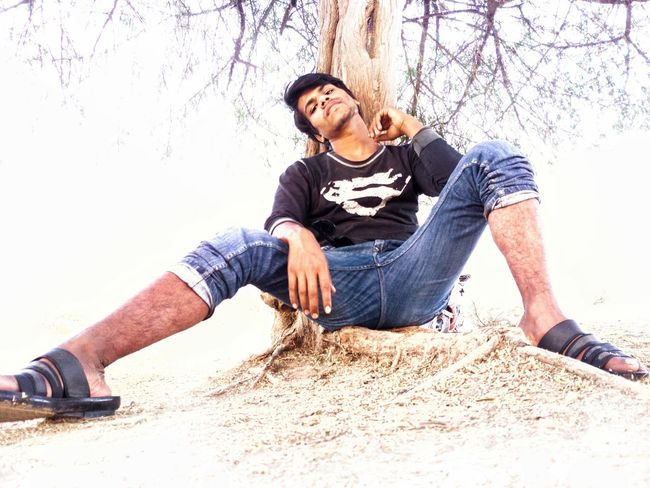 Man Attitude Attractive Pose Tree Shadow Shade EyeEm Selects EyeEm Best Shots EyeEm Best Shots EyeEmNewHere EyeEm Gallery EyeEm Gallery Casual Clothing Beach Beard Men Only Men Sand Adult Outdoors Relaxation Sitting