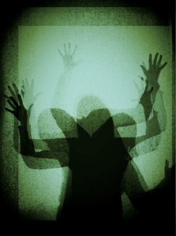 Freak out! Playing with my new app! Shadows Silohette Dancing Getting Creative Silhouette One Wild Night