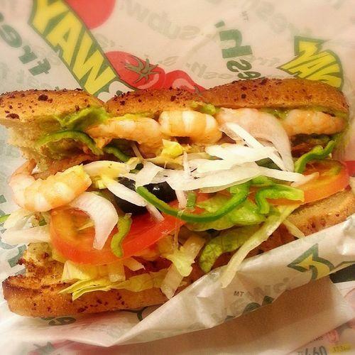 大好き♡サブウェイ♡よく行く♪♪ サブウェイ Subway コブサラダ サンドKobusaradasand