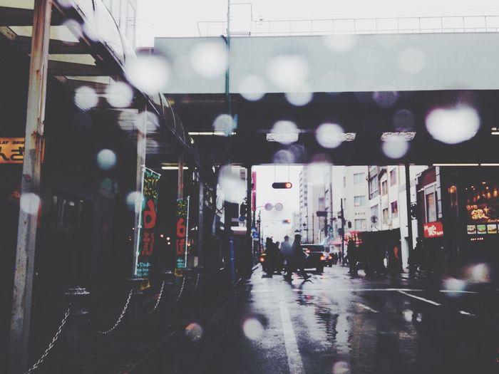 Streetphotography 雨の土曜日
