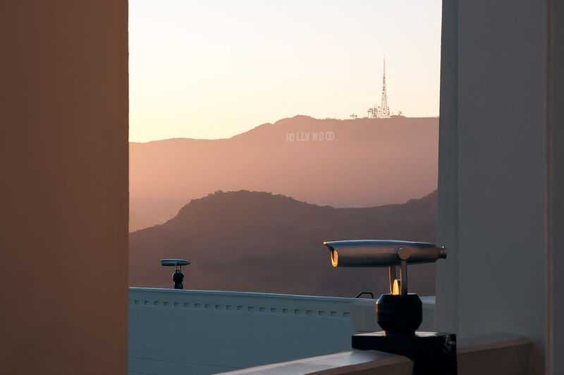 Aerial View Atmosphere Atmospheric Mood Binocular Binoculars Evening Glow Evening Light Evening Sky Eye4photography  EyeEm Foggy From My Point Of View Griffith Observatory Griffith Park Hollywood Hollywood Hills Hollywood Sign Landscape Life Is Beautiful Outdoors Sign Sunset Sunset Silhouettes Sunset_collection Pastel Power