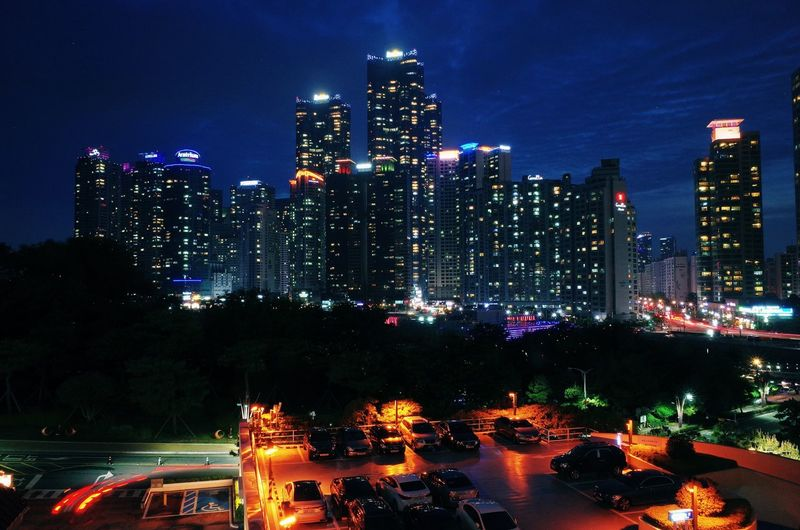 Architecture Building Building Exterior Built Structure City City Life Cityscape Financial District  Illuminated Landscape Light Modern Nature Night No People Office Building Exterior Outdoors Sky Skyscraper Tall - High Tower Transportation Urban Skyline Water