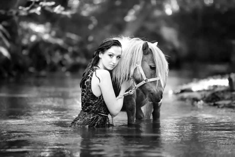 Wassershooting Watershooting Horse Photography  Pferdebilder Fluss River Pony Shetty Horse Pferdefotografie