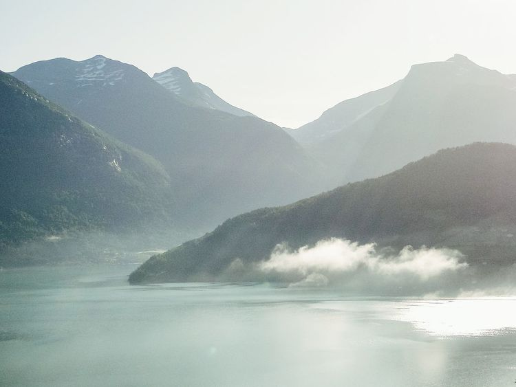 Norway Mountain Landscape Beauty In Nature Outdoors Mountain Range Scenics Nature Water No People Day Landscape Photography Sky Travel Destinations Sunlight Sunbeam Sunbeams Through Clouds Fjord Fjordnorway Fjordsofnorway Stryn Scandinavia Viewpoint Klaquax_Norway