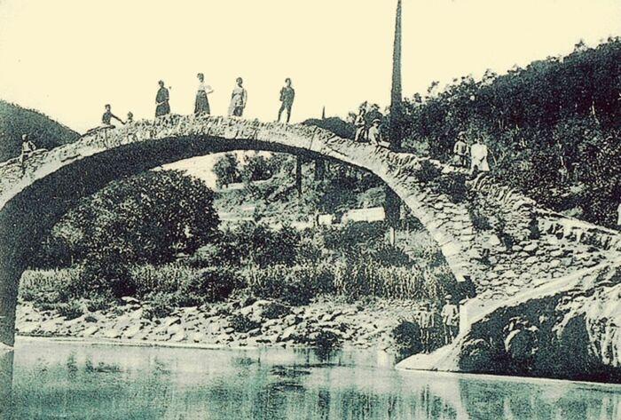 Cartolina Ponte Romano Borghiitaliani Borghiditalia Vallearroscia Liguria EyeEm Liguria