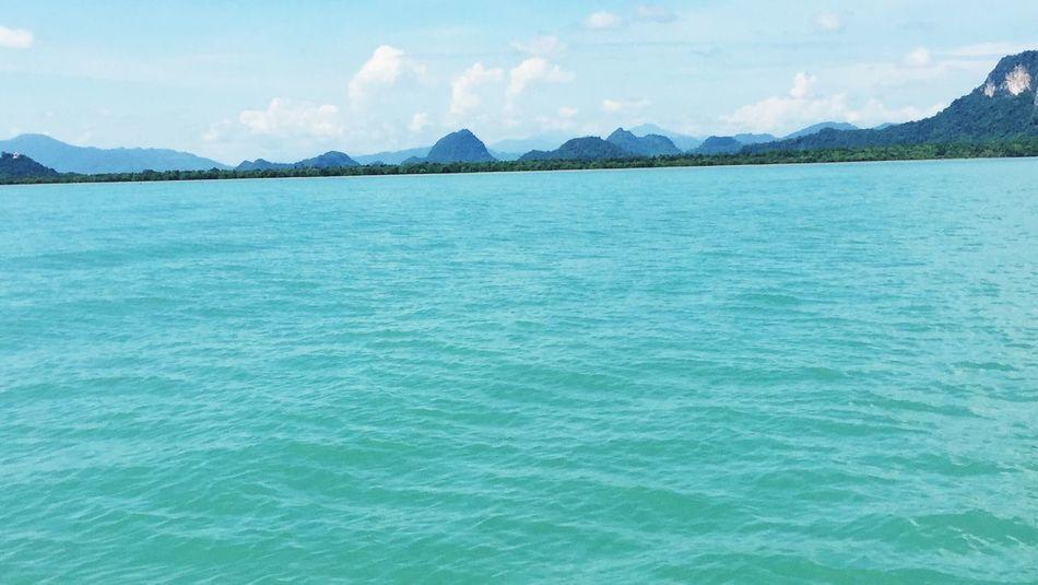 Khanom Beauty In Nature Scenics Blue