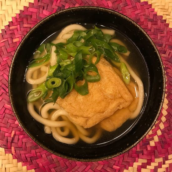 KITSUNE UDON 🍜 Ready-to-eat Fast Food Eye4photography  Japanese Food Taking Photos My World Of Food Food OSAKA Enjoy Eating Healthy Eating Noodles Meal Enjoying A Meal Food And Drink Udon Udon Noodles High Angle View Bowl Close-up