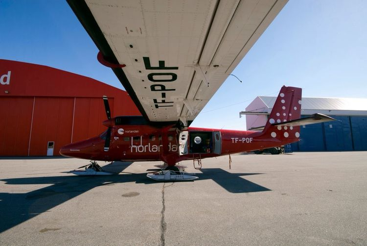 My ride for a month of Expedition around Greenland . Twin-Otter