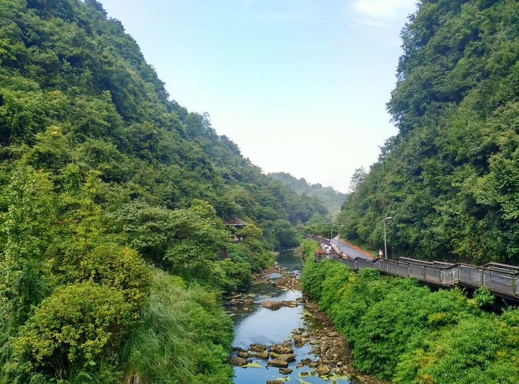 A superexcellent river valley view. River Riverside River View Riverscape Riverview River Collection Valley Valleys Valley View Valleyview ASIA China Guiyang China Guiyang Guizhou China,Guizhou Nature