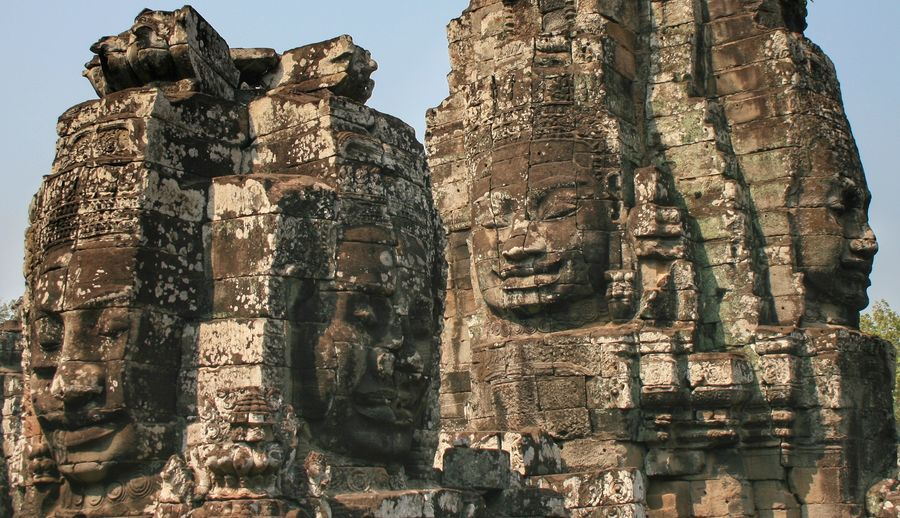Bayon temple in Cambodia Old Ruin Ancient Civilization History Ancient Architecture Travel Destinations Religion Statue Spirituality EyeEm Best Shots