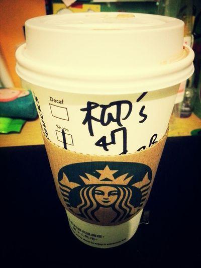 Starbucks New Flavor  玫瑰蜜香茶拿堤