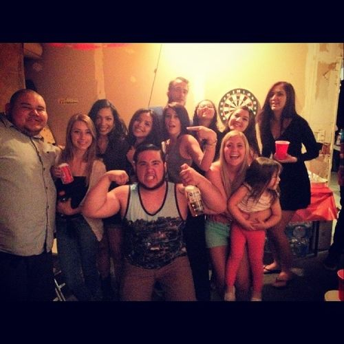 Last night was fun ? Happybdaydavid
