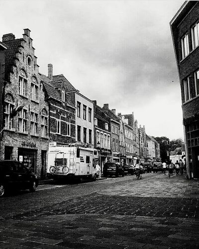 Street City Cloud - Sky Outdoors Day City Life Young Wild And Free(; Brugge, Belgium New Samsung Galaxy A3 Oneshot Town Cloudy Car No People