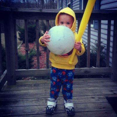 How we play baseball <3