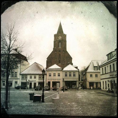 #brandenburg #beeskow #germany #marktplatz #kirche #Hipstamatic #Melodie #CTypePlate