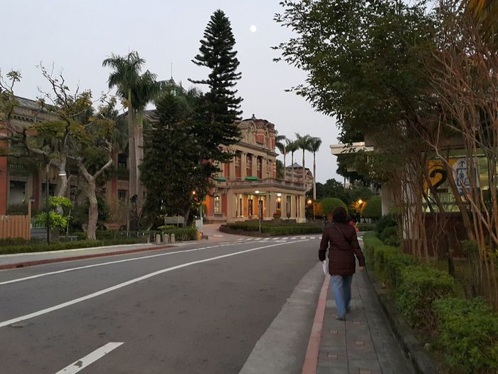 Adult Architecture Building Exterior Built Structure Day Full Length Lifestyles Nature NTUH One Person Outdoors People Real People Rear View Road Sky Taipei The Way Forward Tree Walking Women