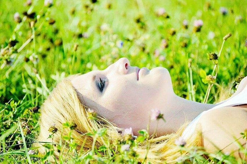 Beutiful  Girl Cute Girl Natural Beauty Summer2015 HorsePlay Beauty In Nature Photography Happy Summer Day with my Friend Sunny Day☀ Summertime