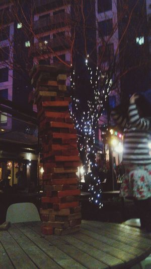 Giant Jenga Wellington  Hanging Out Jenga Playing Games #pub