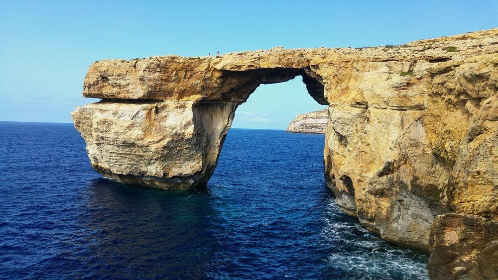 Azure window in Malta! Malta Azurewindow Check This Out Vacation Enjoying The View Beautiful Warm Day