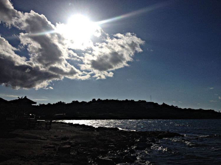 Enjoying The Sun Sea Sunshine Relaxing