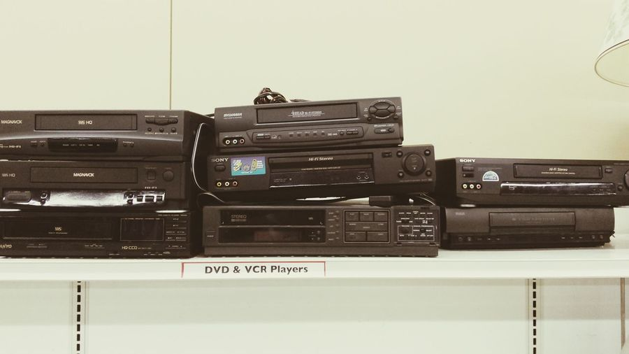 VCR's Video Cassette Recorders Video VHS Players