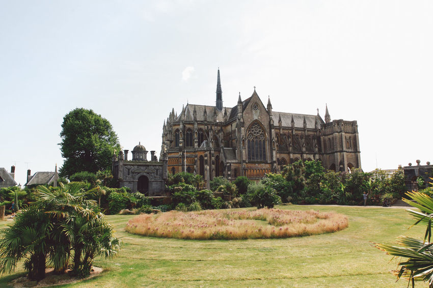 Architecture Arundel Building Exterior Built Structure Day Exterior Façade Garden Grass Green Color Growth History Lawn Nature No People Outdoors Place Of Worship Plant Sky Summer The Past Tourism Travel Destinations Tree