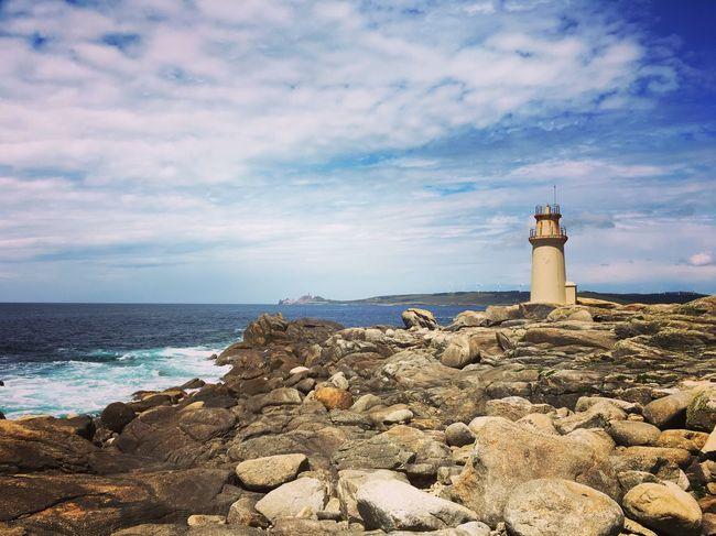 SPAIN Muxía Lighthouse Ocean