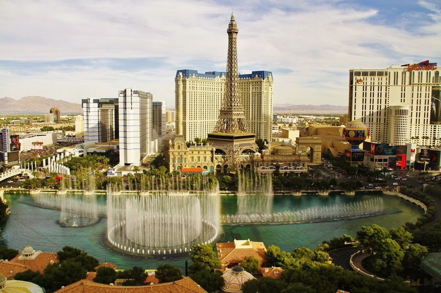 From a window of the room on the lake side of Bellagio American Bellagio Built Structure Casino City Life Famous Place Fountain_collection Fountains Gambling Las Vegas Las Vegas ♥ NEVADA, USA!♡ Photostock Portrait Of America Seeing The Sights Slot Stockphotography Traveling Trip United States Viva Las Vegas Water Fountain