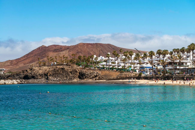 Playa Blanca, Lanzarote Island, Canary Island, Spain Canary Islands Hollydays Landscape Lanzarote Island Sea Seaside Volcanic Island