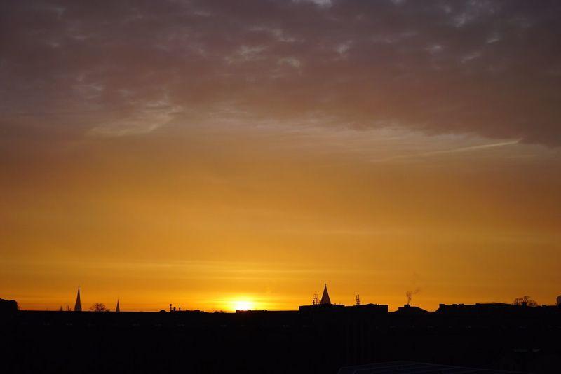 Goodmorning Berlin Rooftops Burningsky