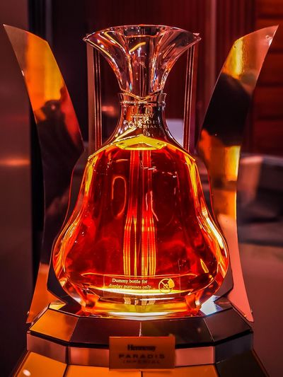 Close-up Cognac Hennessy Hennessy (Cognac) Hennessy Paradis Indoors  No People Science Technology